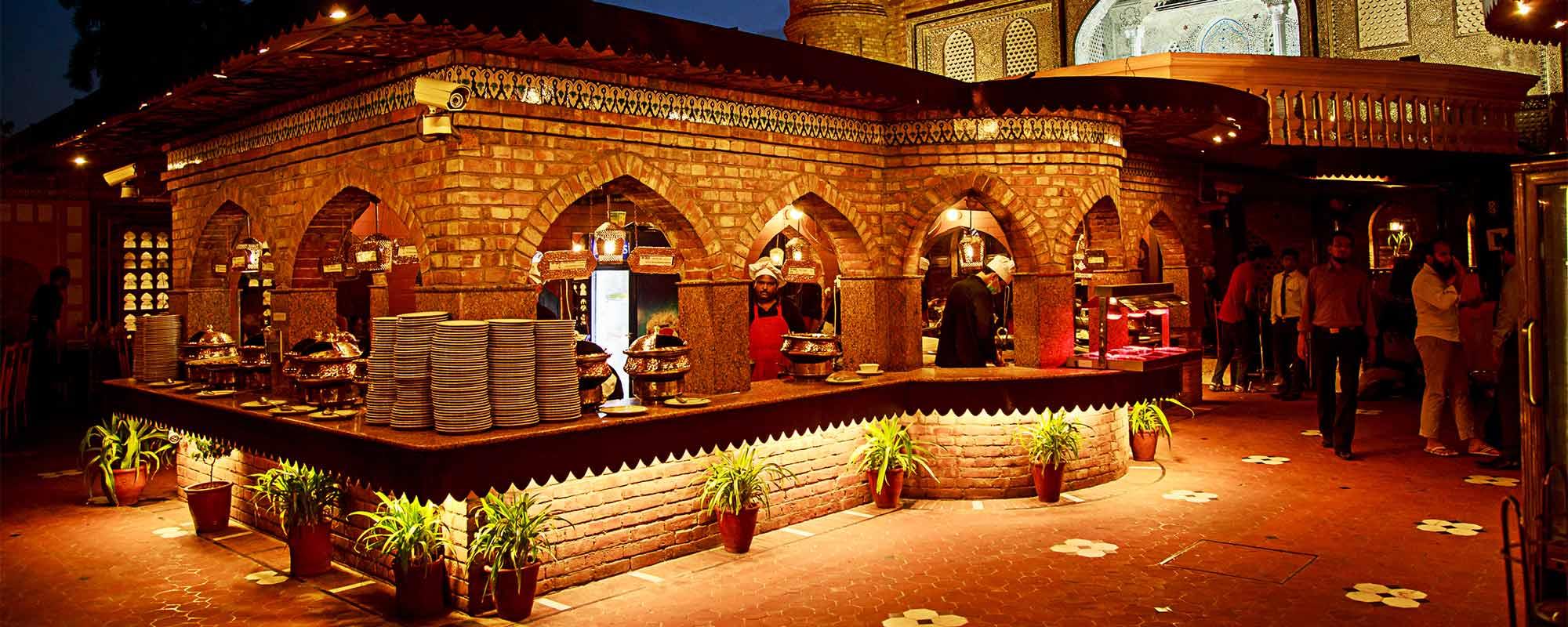 Lalqila Karachi, Main Buffet Counter